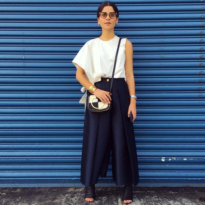 Tuần lễ thời trang New York: Váy áo lập dị thống lĩnh đường phố-16