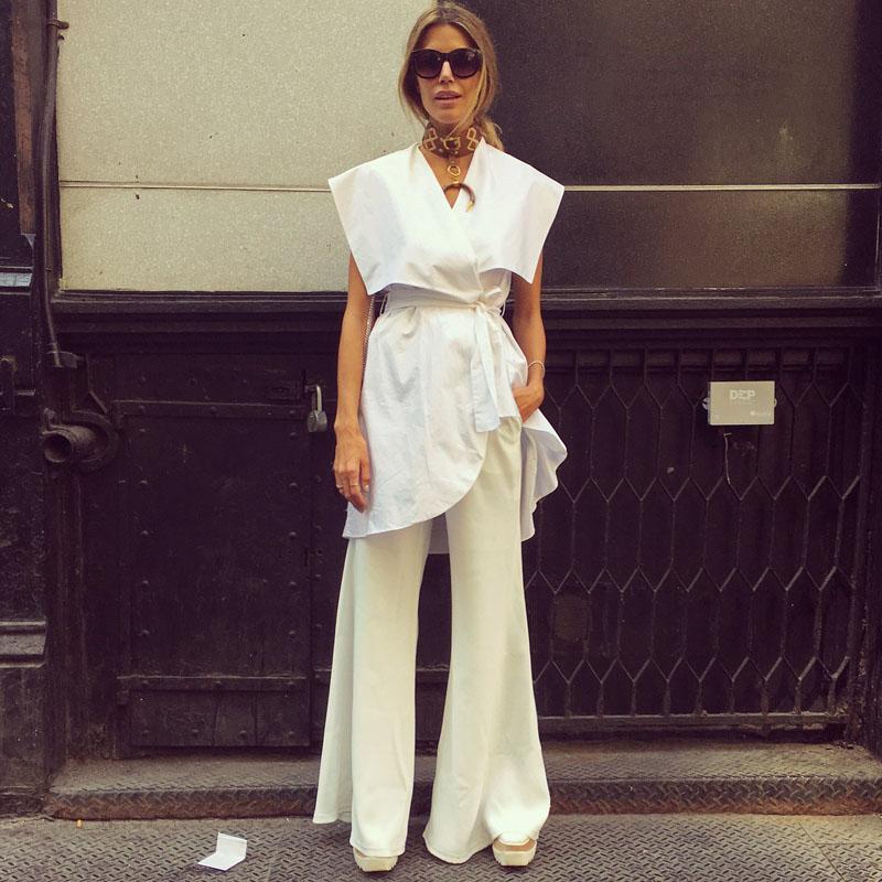 Tuần lễ thời trang New York: Váy áo lập dị thống lĩnh đường phố-5