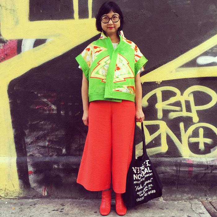 Tuần lễ thời trang New York: Váy áo lập dị thống lĩnh đường phố-4