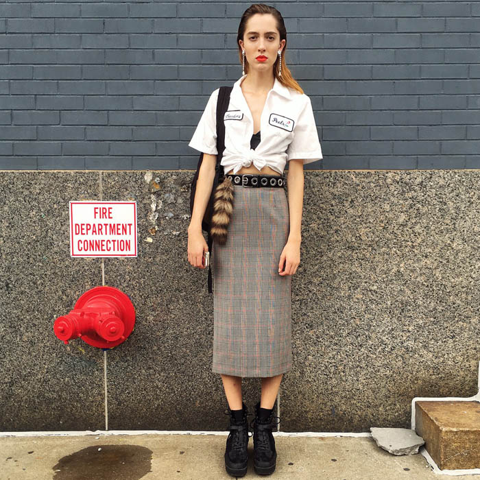 Tuần lễ thời trang New York: Váy áo lập dị thống lĩnh đường phố-12