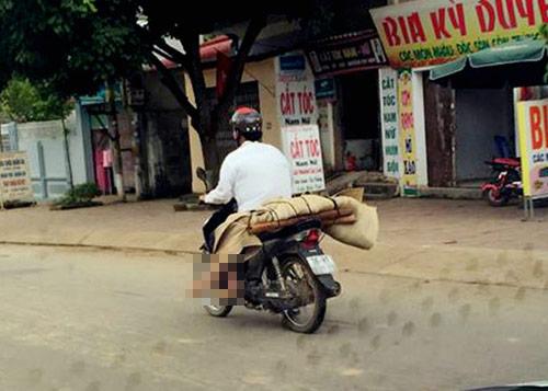 vu cho thi the bang xe may: benh vien rut kinh nghiem - 1