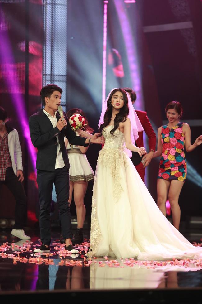 """tv show tuan qua: dong nhi - ong cao thang bat khoc, pham huong thoi """"vai ac"""" - 6"""