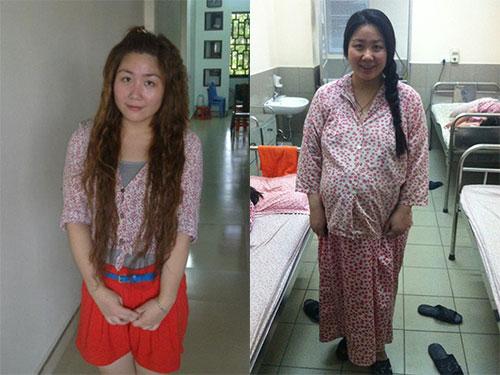 """sau sinh, 9x tang 32kg van duoc chong khen nuc no """"em la dep nhat"""" - 1"""
