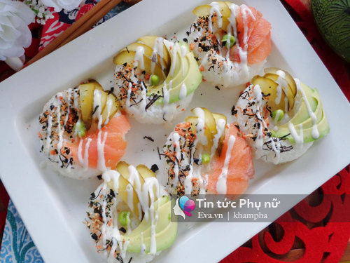cach lam sushi donut vua dep vua ngon - 5