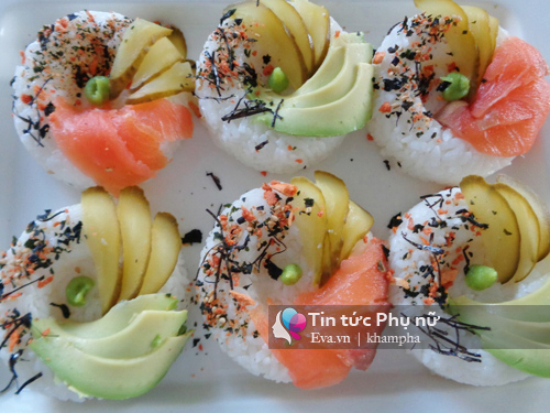 cach lam sushi donut vua dep vua ngon - 4