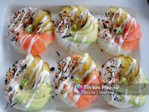 cach lam sushi donut vua dep vua ngon - 6