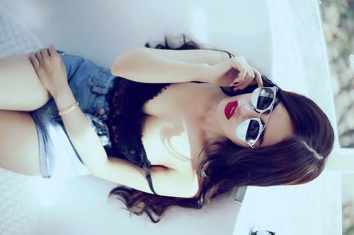 """hotgirl nguyen phuong ly: """"thanh cong den tu su no luc"""" - 1"""