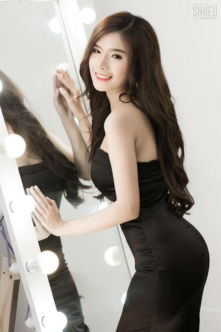 """hotgirl nguyen phuong ly: """"thanh cong den tu su no luc"""" - 2"""