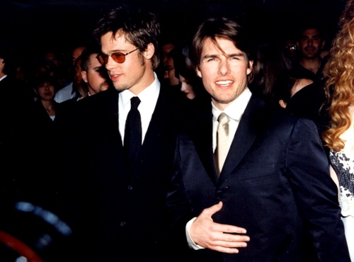 "tom cruise va brad pitt: 2 ga ""ma ca rong"" dao hoa bac nhat hollywood - 1"