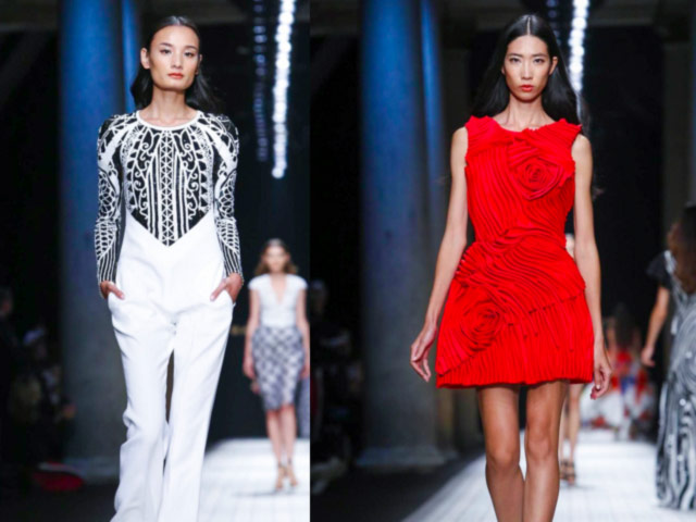 le thuy va trang pham lam nen lich su tai milan fashion week - 2