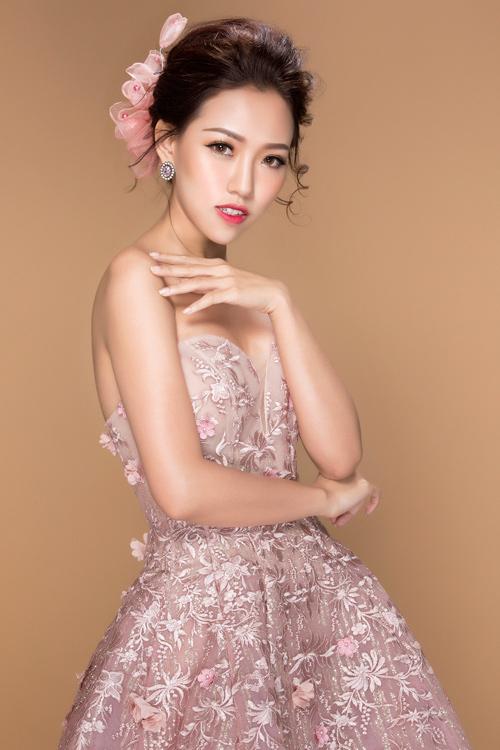hot girl joxy thuy linh ngot ngao nhu cong chua voi dam da hoi - 12