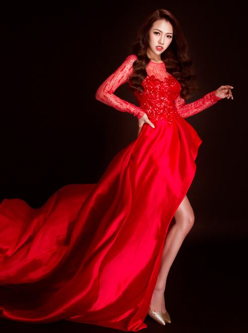 hot girl joxy thuy linh ngot ngao nhu cong chua voi dam da hoi - 4