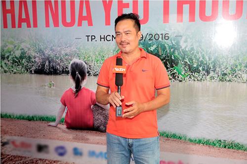 """truong thi may bat ngo xuat hien tai buoi casting phim """"hai nua yeu thuong"""" - 1"""