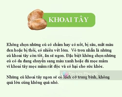tong hop cac cach chon rau cu qua tuoi ngon khong lo hoa chat - 6