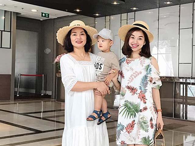 Ly Kute đi chơi cùng mẹ và con trai mà ai cũng ngỡ 3 chị em