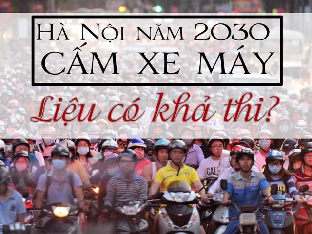 [Video] Hà Nội cấm xe máy năm 2030, liệu có khả thi?