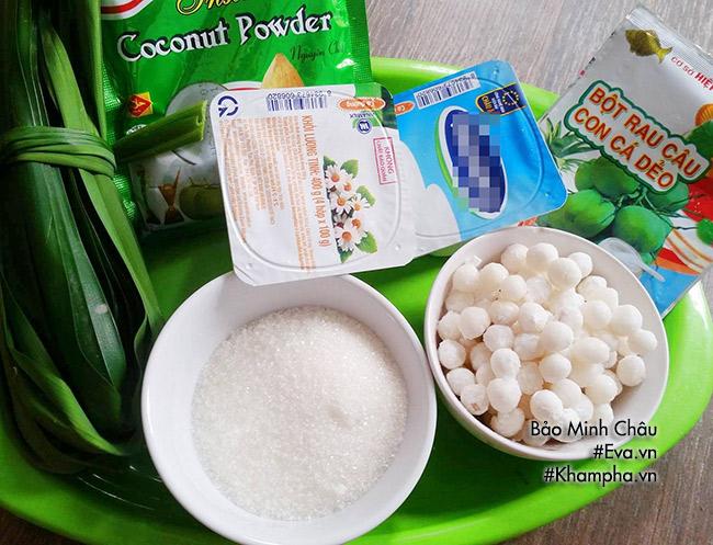 Hướng dẫn cách làm sữa chua thạch lá nếp, ăn một lần là mê - 1