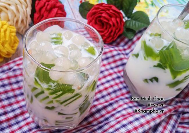 Hướng dẫn cách làm sữa chua thạch lá nếp, ăn một lần là mê - 13