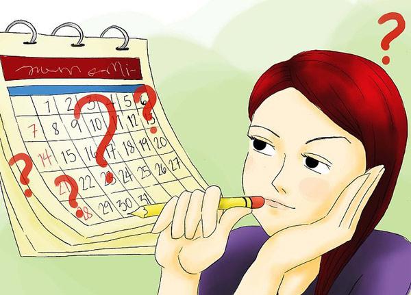 Chu kỳ kinh nguyệt 30 ngày cần biết trong tháng