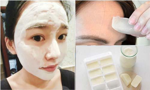 Kết quả hình ảnh cho làm trắng da mặt bằng sữa tươi