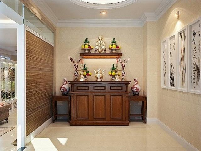Những điều kiêng kị không nên làm khi đặt bàn thờ gia tiên trong nhà