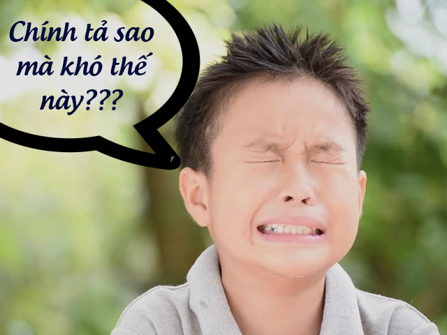 Trắc nghiệm chính tả Việt Nam: Đố bạn giỏi hơn học sinh tiểu học!
