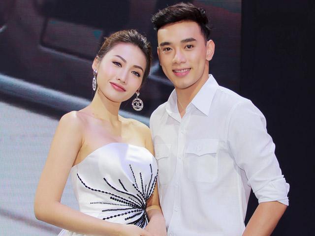 Diễn viên má lúm Thuận Nguyễn bị nghi ngờ đang hẹn hò siêu mẫu Khánh Ngọc