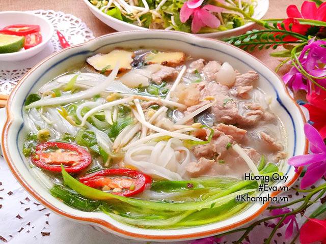 Cách nấu phở bò ngon tại nhà chuẩn vị Nam Định