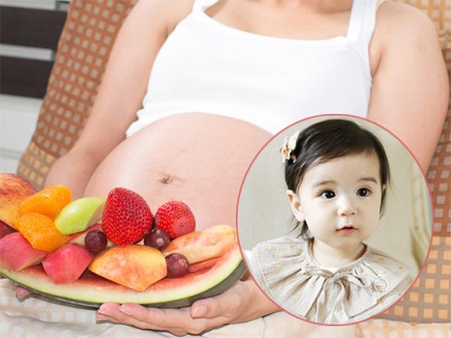 7 thực phẩm mẹ bầu nên ăn để con da trắng bóc