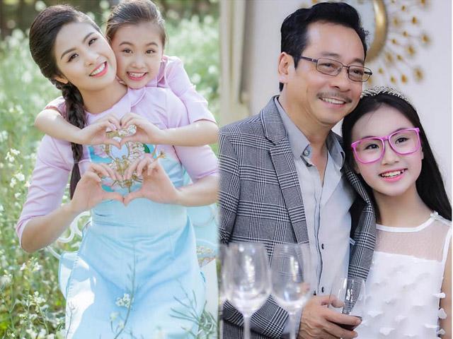 Ít ai biết Hoa hậu Ngọc Hân có con gái nuôi xinh đẹp tài năng hơn tuổi như thế này!