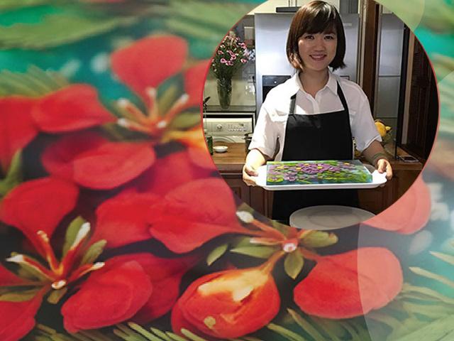 Mẹ 8x được dân mạng thế giới phong thánh tỉa thạch 3D Việt vì món ăn đẹp choáng váng