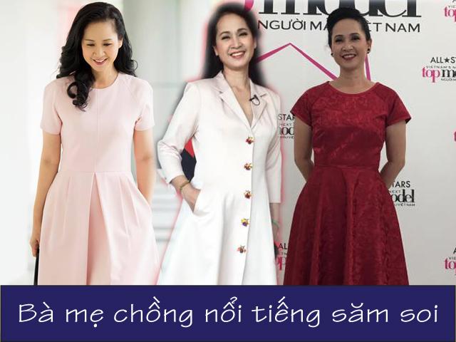 Bà mẹ chồng ghê gớm nhất Việt Nam 56 tuổi vẫn mặc gì cũng được khen đẹp