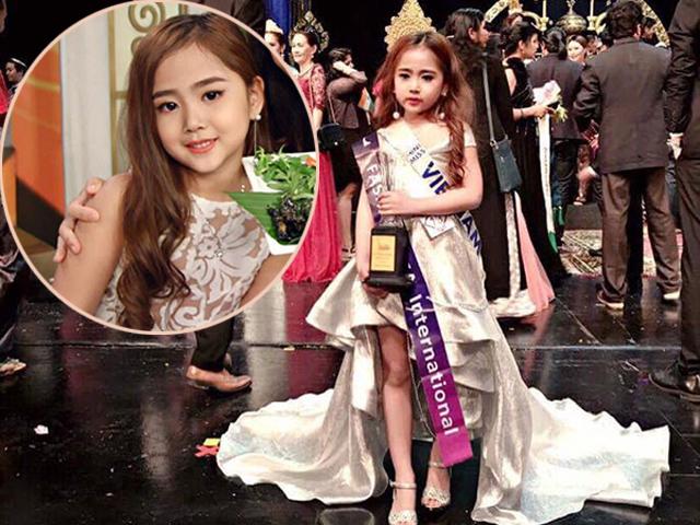 Cô bé Hải Phòng vượt 50 mẫu nhí thế giới, đoạt giải Công chúa thời trang tại Thái Lan