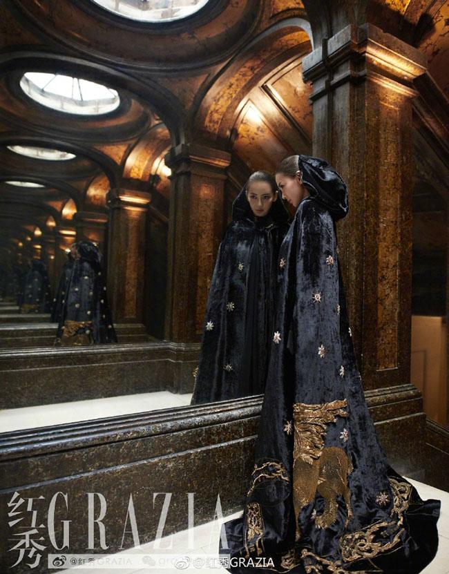 Chỉ với một màu đen tuyền, Angelababy vẫn chứng tỏ nét đẹp vốn có của mình