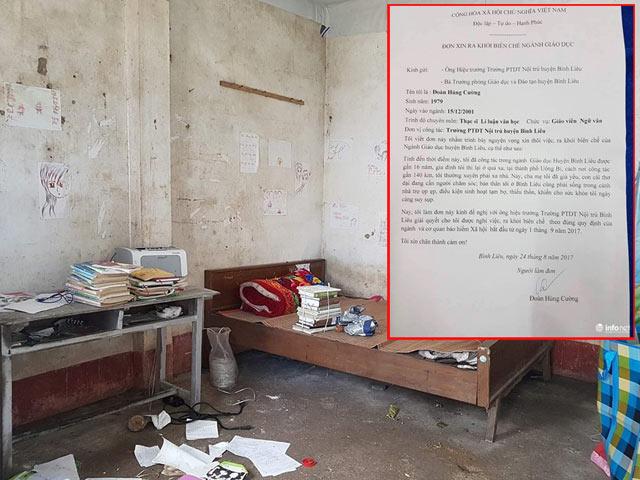 Tâm sự gây bão của thầy giáo 16 năm dạy học viết đơn xin ra khỏi biên chế