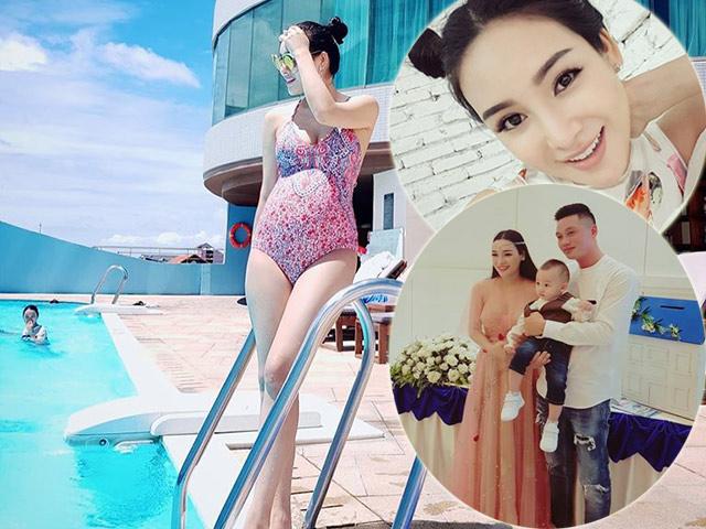 Bầu lần 2 dù mới sinh mổ 6 tháng, bà chủ 8x Sài Gòn vẫn xinh tươi hút mắt nhìn