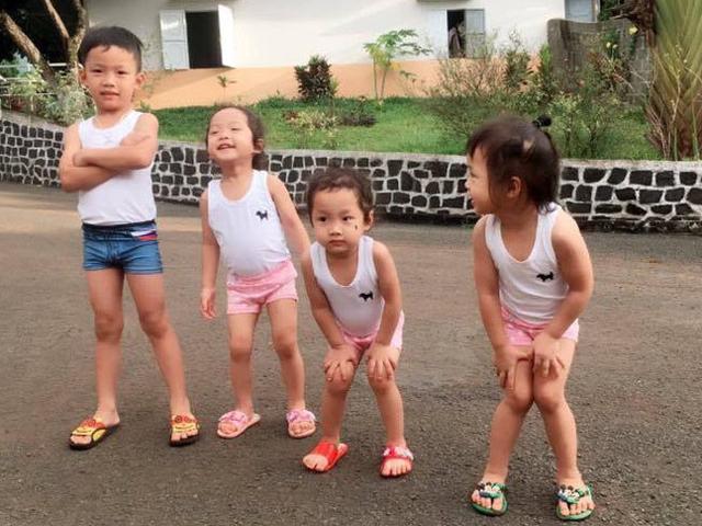Mẹ 9x Gia Lai 2 năm làm mẹ của 4 nhóc, sinh 3 trong tình trạng liệt nửa mặt