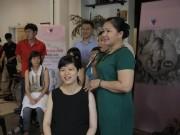 Workshop Mẹ bầu và Bé: 40 mẹ bầu được massage miễn phí và học cách tắm cho trẻ sơ sinh