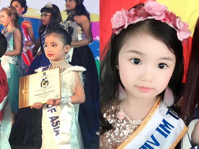 Bé gái Việt 5 tuổi vượt 5000km đến Ấn Độ nhận danh hiệu Công chúa châu Á