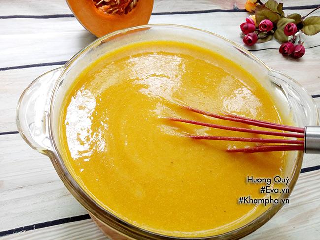 Sữa bí đỏ hạt sen nóng hổi, bổ dưỡng cho những ngày se lạnh - hình ảnh 4