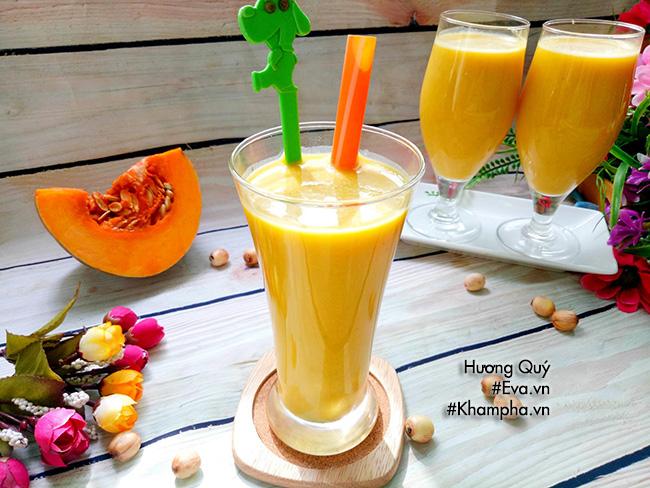 Sữa bí đỏ hạt sen nóng hổi, bổ dưỡng cho những ngày se lạnh - hình ảnh 5