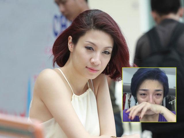 Pha Lê livestream khóc vì bị cướp mất 60 triệu và toàn bộ giấy tờ trước ngày đi Mỹ