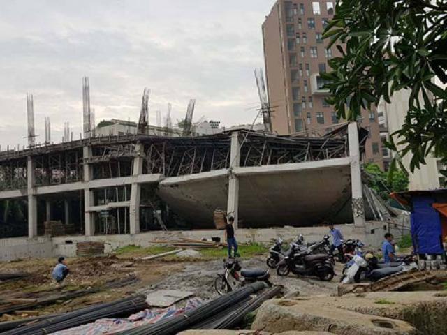 Sập trường mầm non Vườn Xanh ở Hà Nội: Tôi nghe tiếng rắc rắc rồi đổ sập rất nhanh