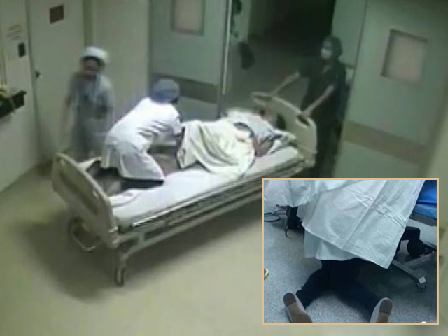 Bị sa dây rốn, sản phụ sống sót nhờ bác sĩ tận tâm, quỳ gối phẫu thuật suốt 25 phút