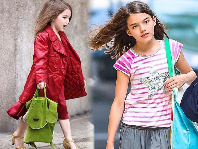 Tiểu công chúa của Tom Cruise đã xưa rồi, Suri giờ là cô bé bình thường mặc đồ bình dân