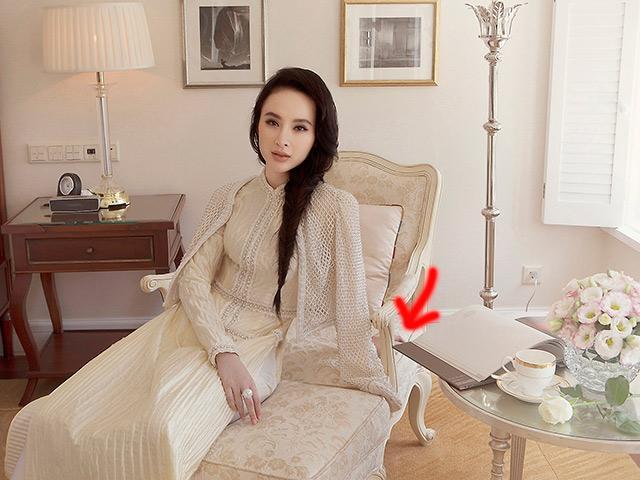 Diện áo dài xinh đẹp, Angela Phương Trinh lại gây hoang mang vì như mất đi một cánh tay