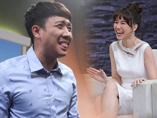 Hari Won hồn nhiên kể chuyện tế nhị trong cuộc sống vợ chồng sau khi cưới Trấn Thành
