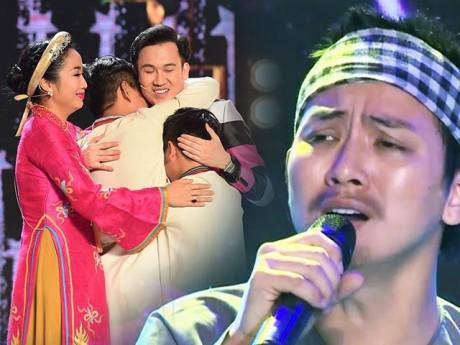 """Con trai nuôi Hoài Linh xuất hiện già nua, giúp học trò của """"chú"""" Dương Triệu Vũ giành Quán quân"""