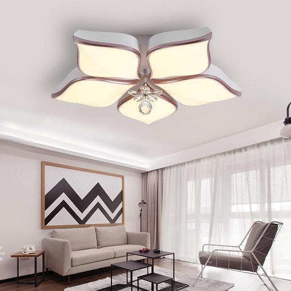 5 Kiểu đèn trang trí phòng khách hiện đại đẹp nhất hiện nay