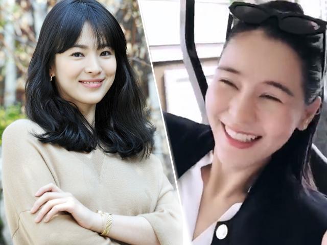 Dân mạng sốt xình xịch khi Song Hye Kyo Thái Lan cười tươi rói đến Phú Quốc du lịch